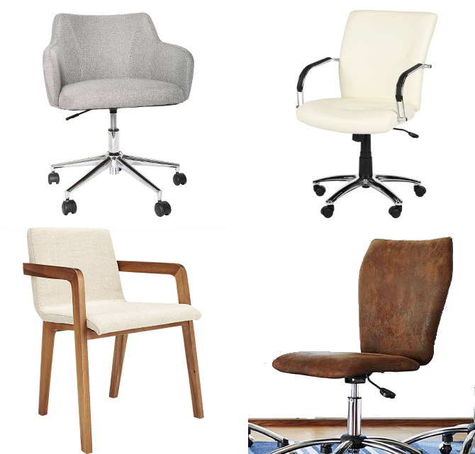 on the hunt for a stylish office chair