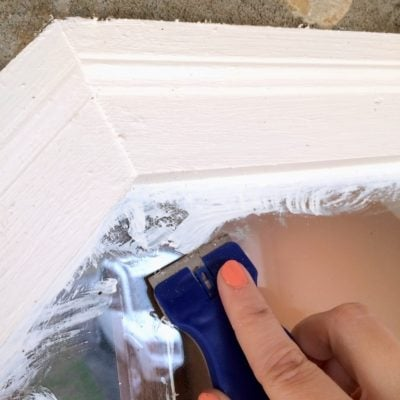 How to To Remove Paint from Windows