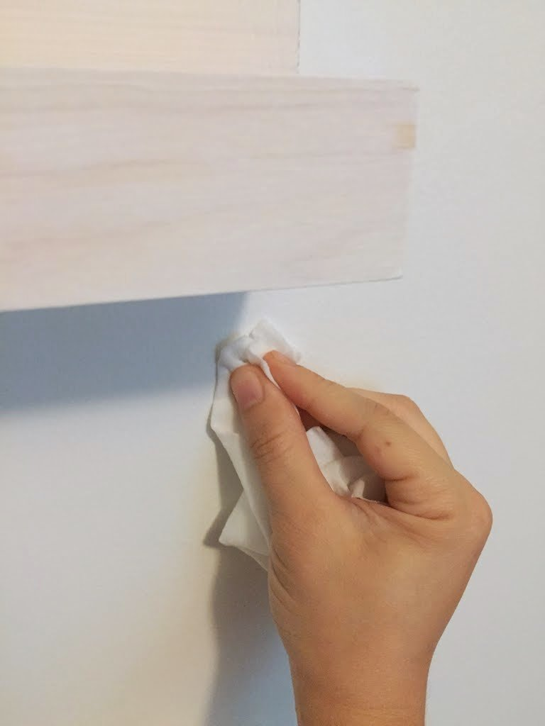 use oil free makeup wipes to erase pencil marks on walls