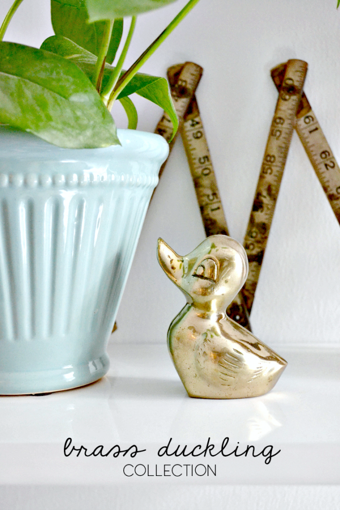 brass duckling collection