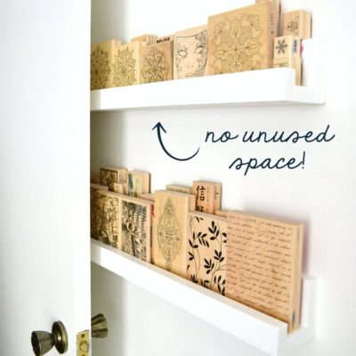 Use Behind-the-Door Space with These Narrow Shelves