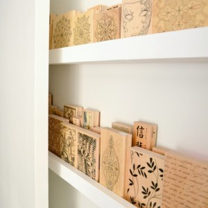 Utilizing Behind-the-Door Space in the Office for Wood Stamps