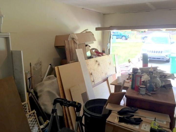 garage lack of storage