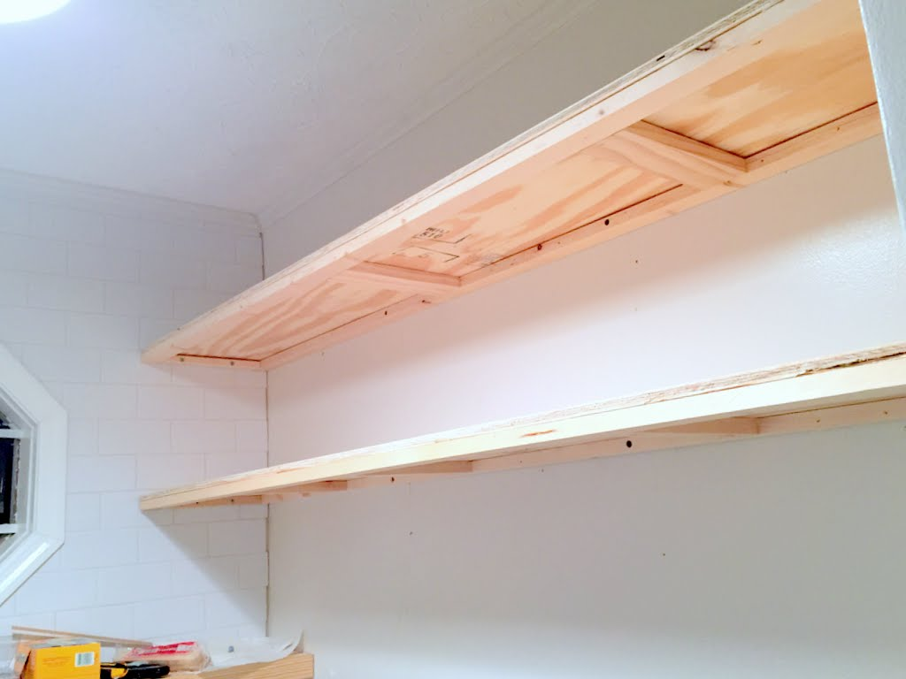 How to Create Long Deep Thin Floating Shelves 5
