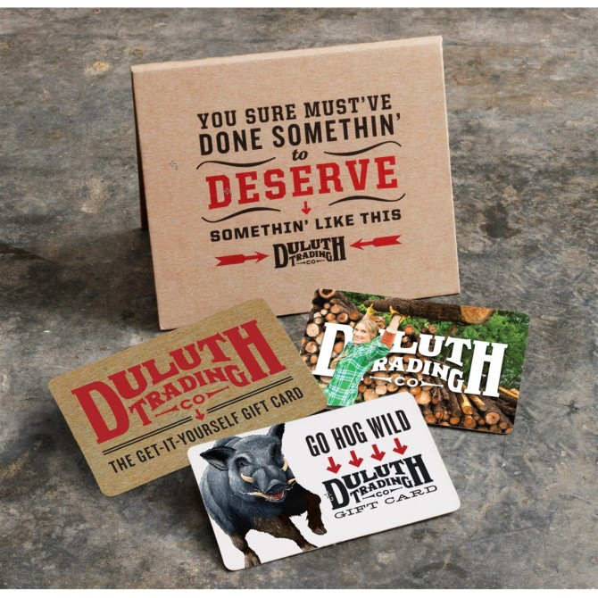 duluth GIFTCARD