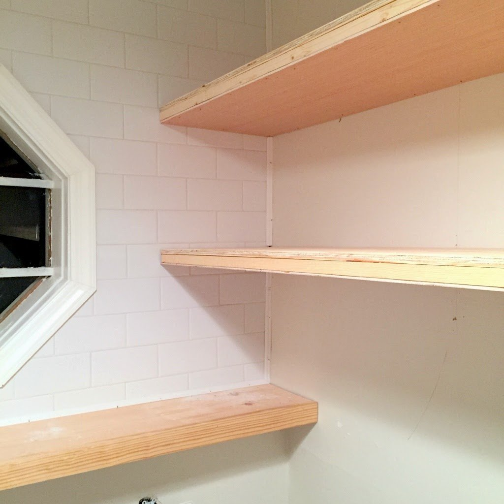 sports shoes fd0dc 33ad3 Finally! How to Create Long, Deep Floating Shelves that Aren ...