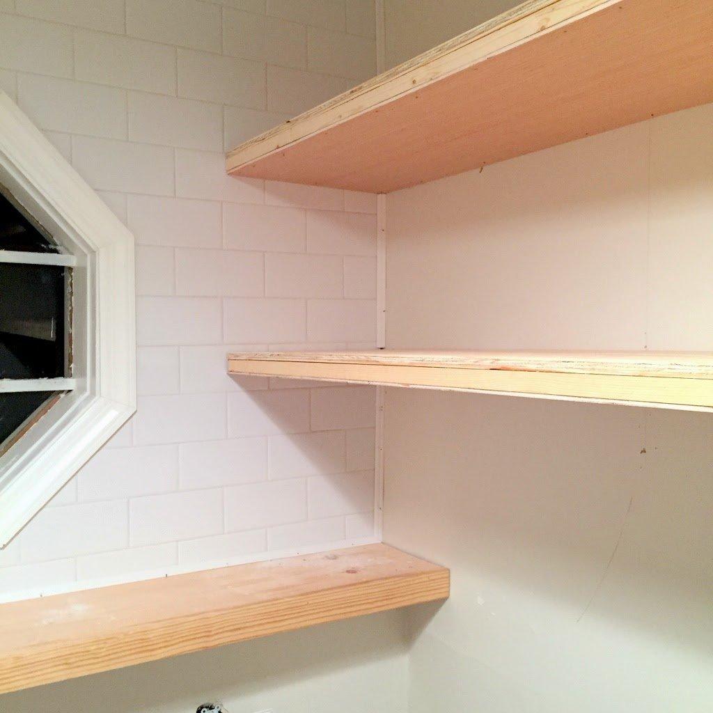 Finally How To Create Long Deep Shelves That Aren T Bulky