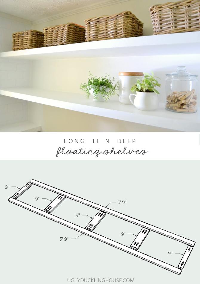 Finally How To Create Long Deep Shelves That Aren 39 T Bulky