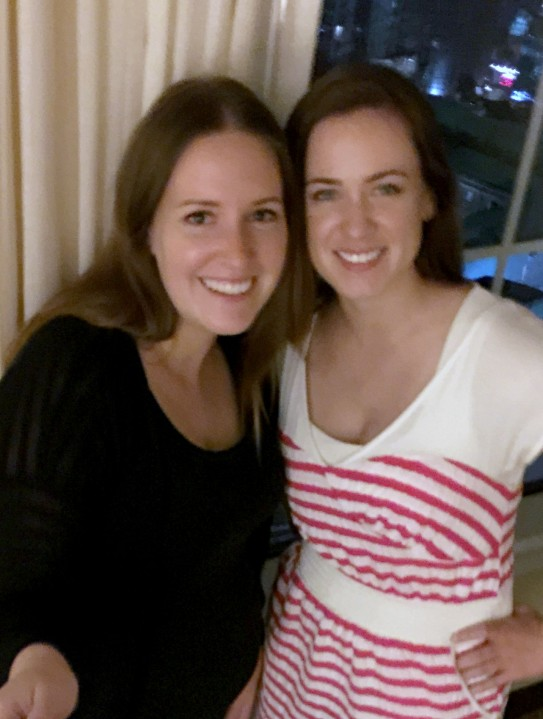 Ann Marie and Sarah 2015
