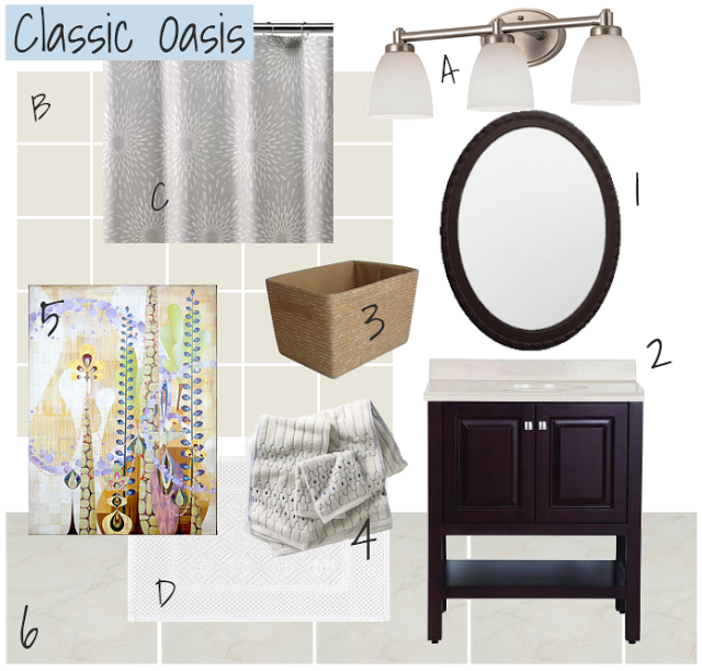 master bathroom mood board