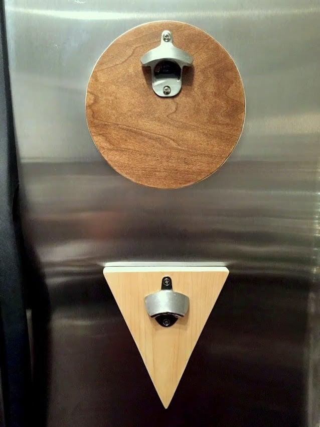 Scrap Wood Diy Magnetic Bottle Opener Scrapwoodchallenge