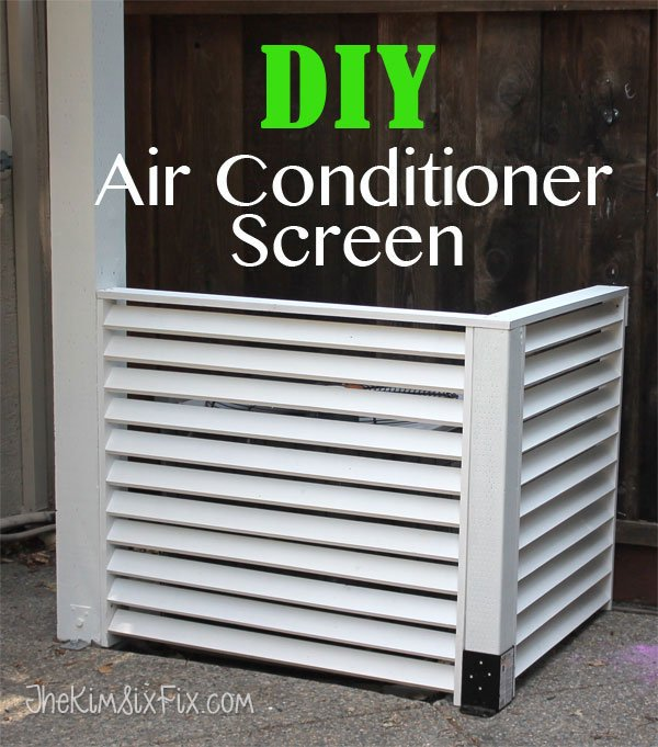 DIY-A-C-screen - Kim Six Fix