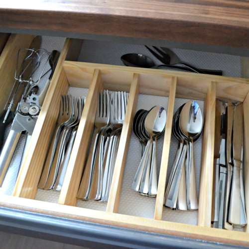 $10 to Organized: DIY Silverware Drawer Organizer