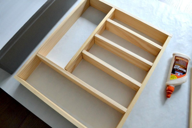 silverware drawer organizer dry fit