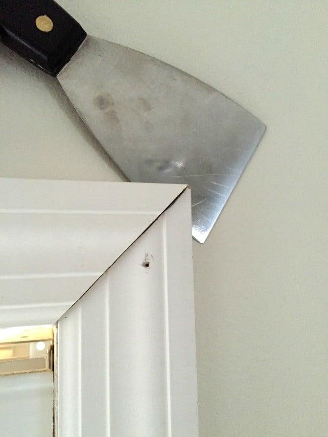 adjust depth window casing