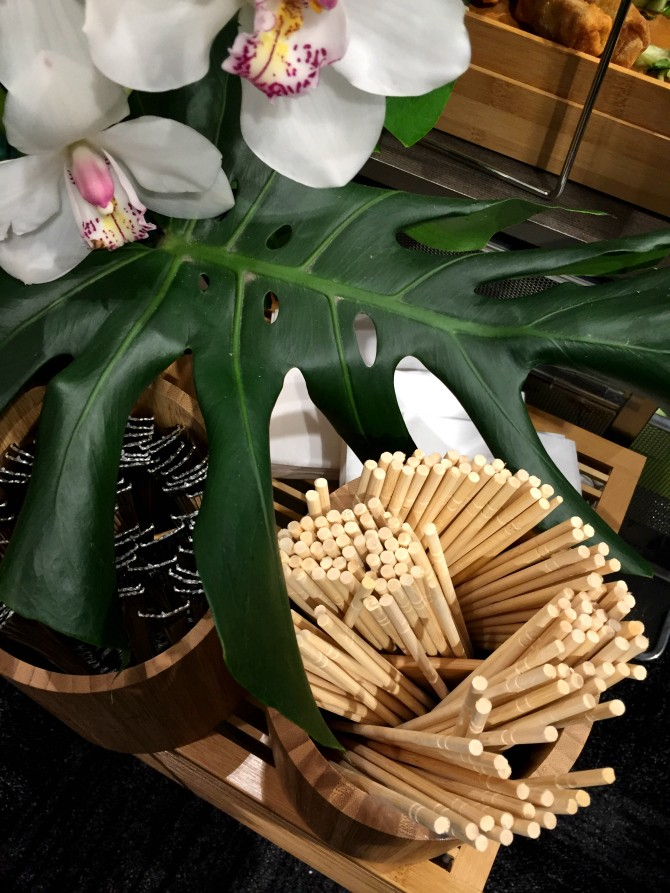 chopsticks and utensils entertaining ideas