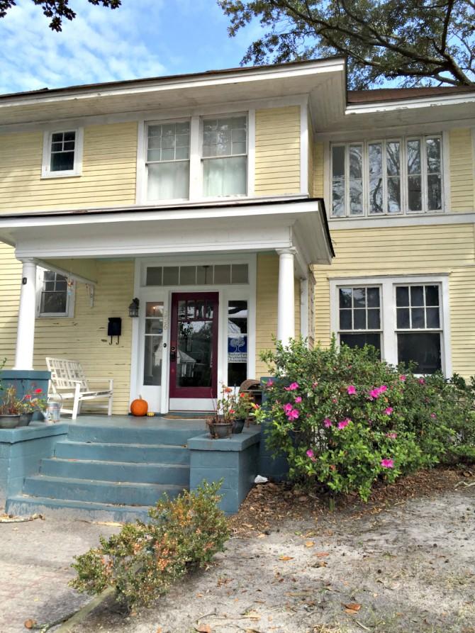 Airbnb Savannah house