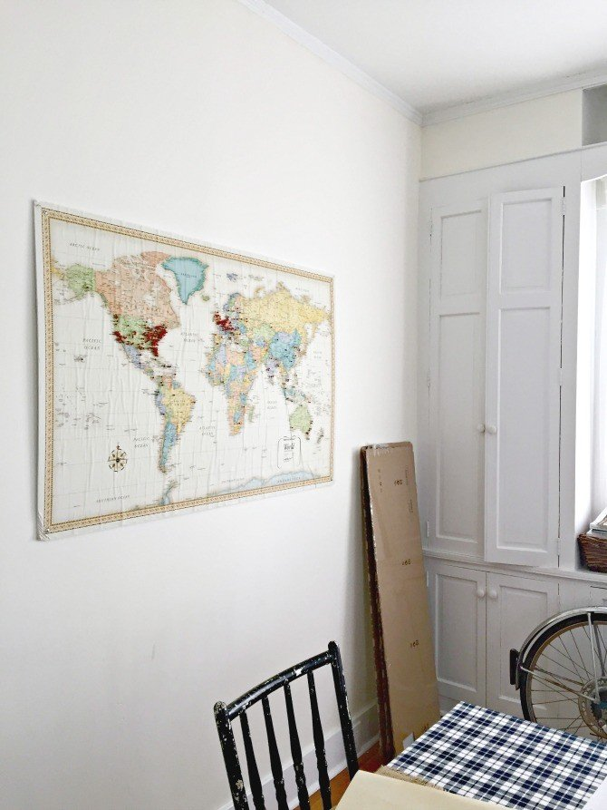 Airbnb dining room map
