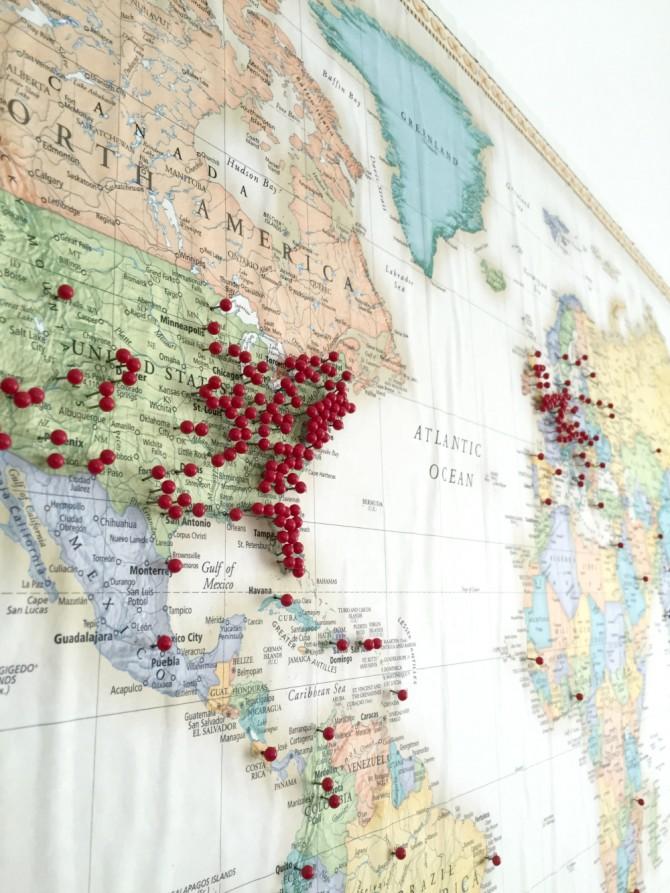 Airbnb map closeup