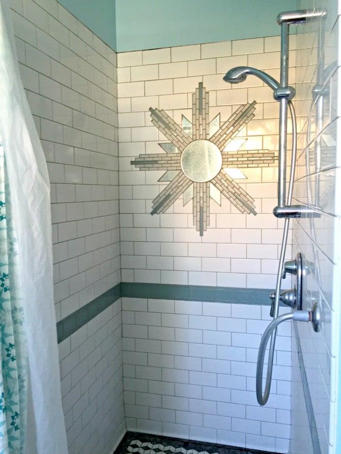 Airbnb shower