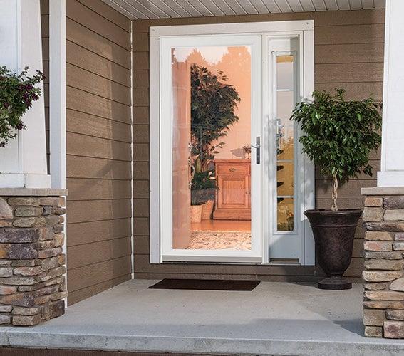 Larson Secure Elegance Security Storm Door on Larson Secure Elegance Storm Door