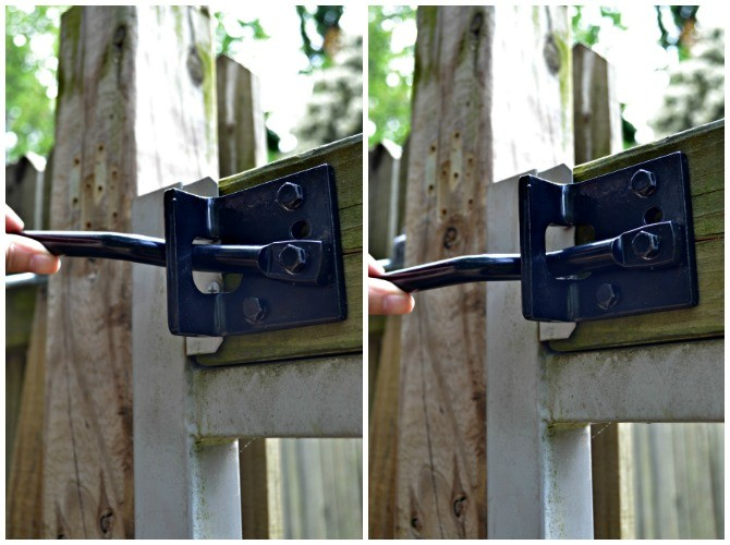 How To Install A Self Adjusting Gate Latch Ugly Duckling House