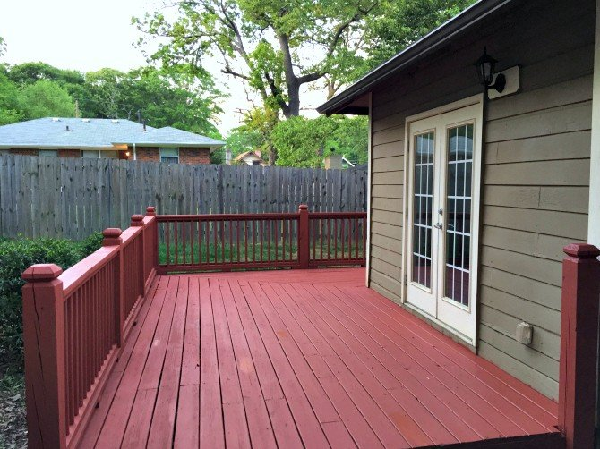 cape cod red deck stain