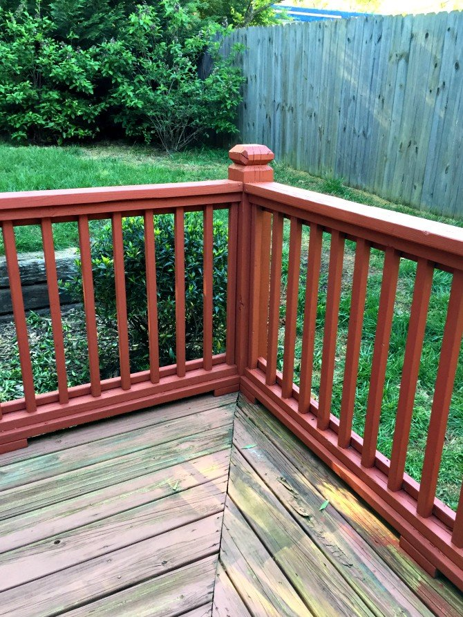 new deck stain