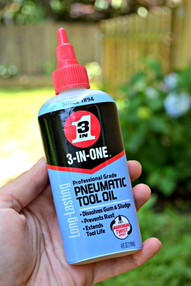 3-in-one pneumatic tool oil fix