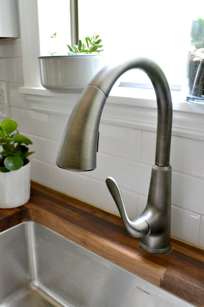 Pfister Pasadena faucet in slate finish