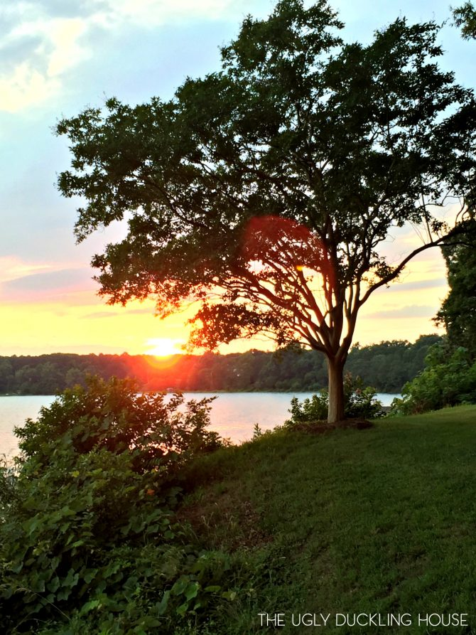 Deltaville Virginia sunset