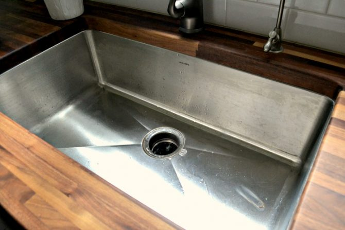 full review of deep stainless steel sink from National Builders Supply