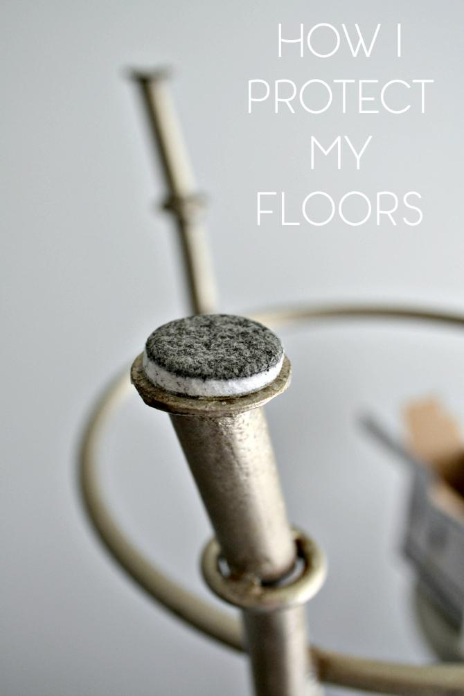 Pinterest-how I protect my floors