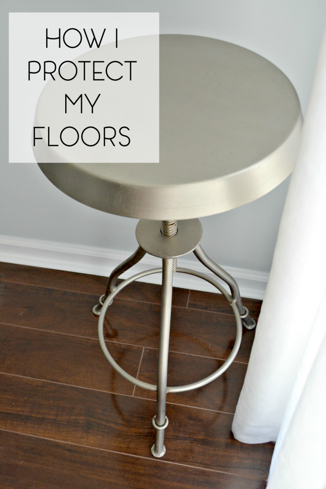 Pinterest2- how I protect my floors