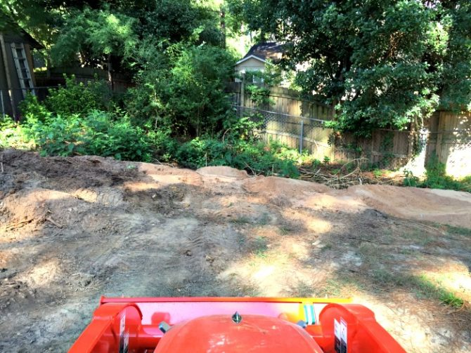 filling in a sinkhole and leveling my yard part 3 the ugly duckling