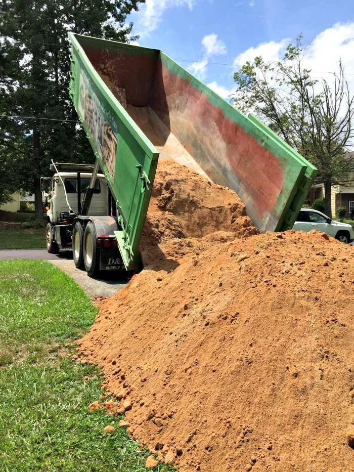 giant pile of fill dirt 81 recycling