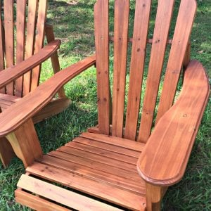 Staining Tips for Adirondack Chairs and New Planters