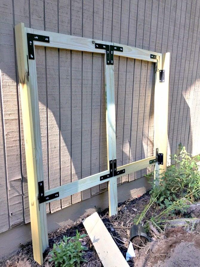 frame-awaiting-final-installation