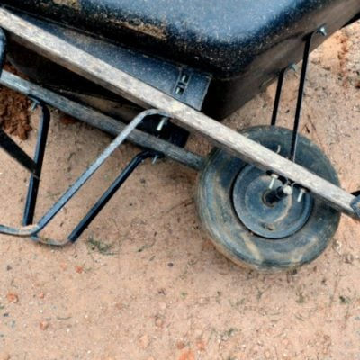 How to Replace a Wheelbarrow Flat Tire
