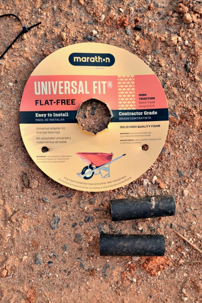 universal fit flat-free tire