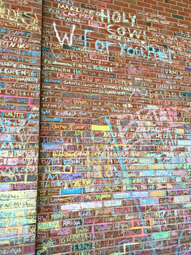 chicago-wrigley-field-chalk-names-in-memory-of-loved-ones