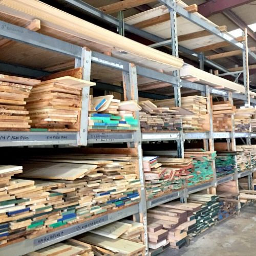 racks-of-hardwoods-at-lumber-supply
