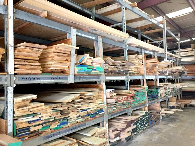 racks-of-hardwoods-at-lumber-supply