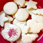 "unfrosted ""hard boiled egg"" sugar cookies"