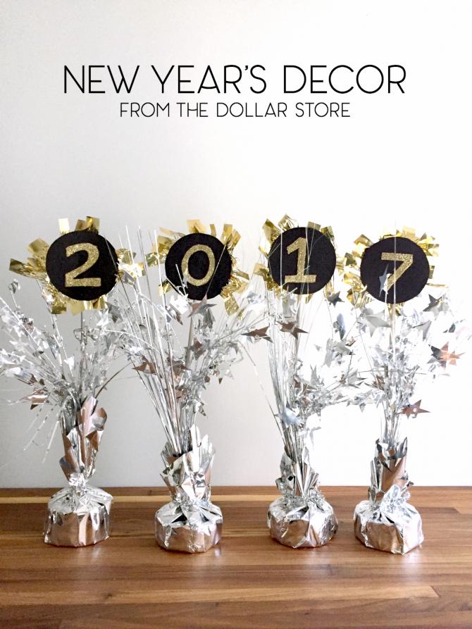 new years centerpiece