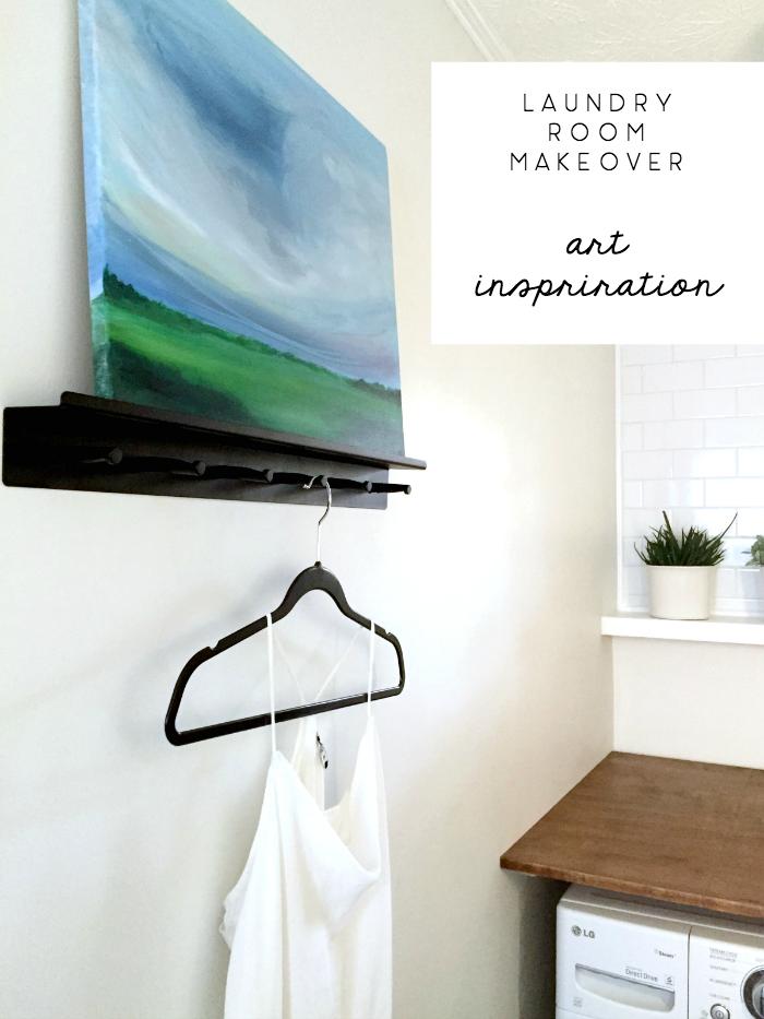 laundry room makeover art inspiration - emily jeffords