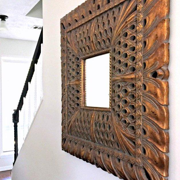 Hallway Update: One Big-Ass Mirror