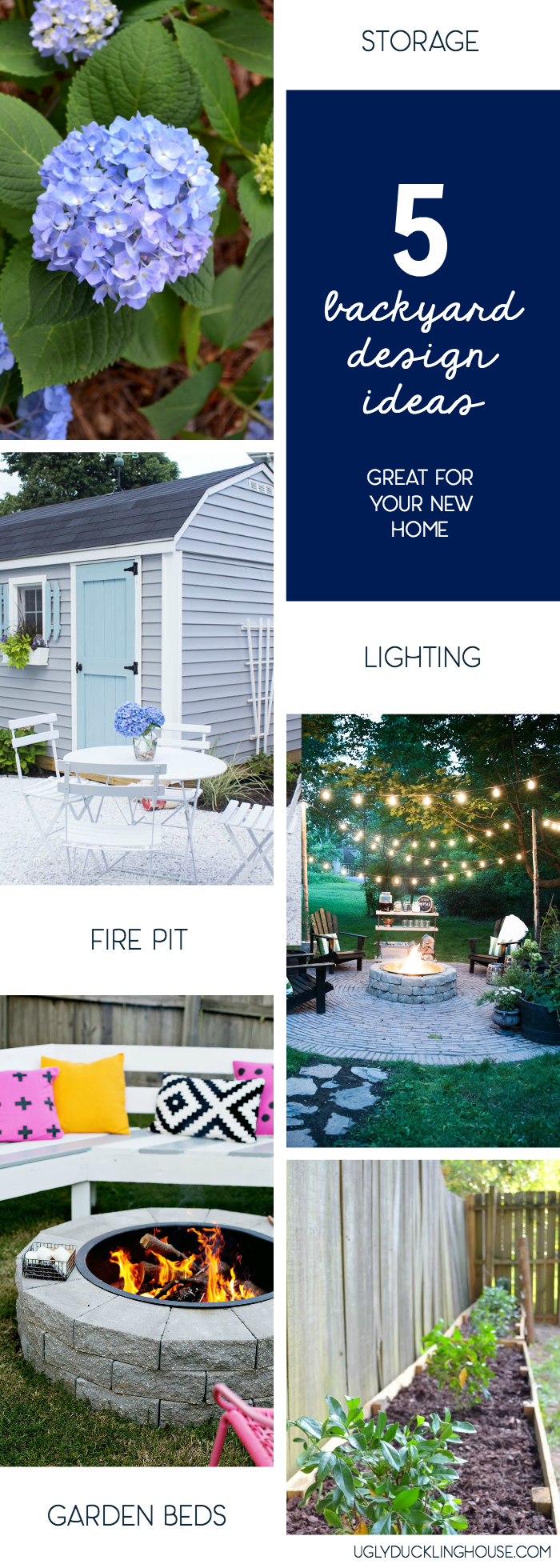 5 backyard ideas great for your new home