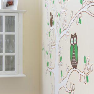Custom wall murals for kids rooms