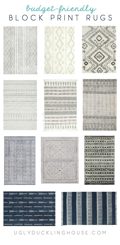 block print area rugs